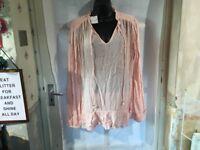 Per Una Ladies Boho Tunic Size 12, Beautiful Design, Brand New With Tags