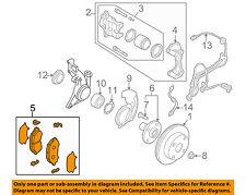 MAZDA OEM 01-03 Protege Brake-Front Pads CBY43328Z