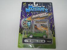 Muscle Machines Import Tuner '00 Honda Civic HB T02-07