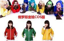Vocaloid Matryoshka cosplay miku Len Rin Gumi Abrigo Chaqueta Con Capucha Disfraz Cosplay