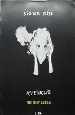 SIGUR ROS 2013 KVEIKUR promotional poster Flawless New Old Stock