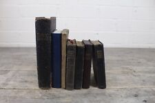 Collection Of Antique Miniature Religious Christian Hymn, Pray & Bible Books.
