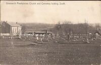 Greenwich, NEW JERSEY - Presbyterian Church & Cemetery - 1908