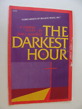 Easter Lent Cantata The Darkest Hour Tenebrae Service by Mansfield 1986  Organ