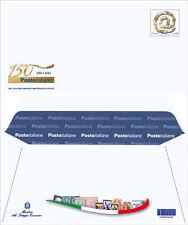 2012 Intero Postale 150° Ann.rio delle Poste Italiane CODICE A BARRE 1487