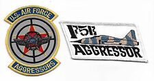 USAF F-5E AGGRESSOR patch set