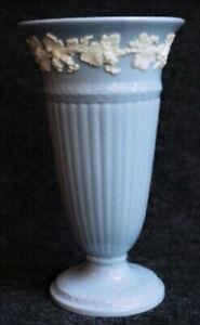 Antique Vintage Wedgwood Etruria Barlaston Queensware Nouveau Wedding Blue Gift