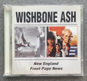 Wishbone Ash: New England/Front Page News (Remastered) BGOCD405 - Excellent