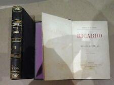 Ricardo, 2 vols. Emilio Castelar.