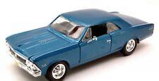 Chevrolet Chevelle Ss 396 1966 Blue Met Maisto 1:24 MI31960BL