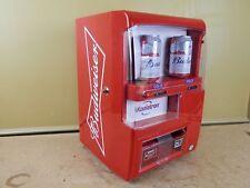CUSTOM Budweiser Beer Vending Machine Advertising Koolatron Mini Fridge EC-23