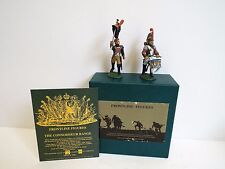 FRONTLINE FIGURES F17C.15 FRENCH DRAGOONS OFFICER & DRUMMER MIB (BS2064)