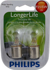 Brake Light Bulb-LongerLife - Twin Blister Pack Front/Rear PHILIPS P21/5WLLB2