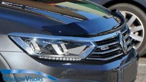 Premium Quality Bonnet Protector - Tinted Acrylic - for VW Passat B8 2015-2019
