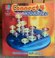 Connect 4 Advanced Board Game By MB Games - Complete