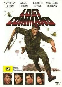 Lost Command - Anhony Quinn - George Segal - New and Sealed DVD