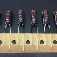 10pcs 330uF 35V 10x13mm NCC KZH 35V330uF Low Impedance Long Life Capacitor