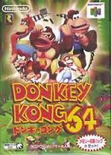 DONKY KONG  Nintendo 64 N64 Import Japan DONKEY KONG