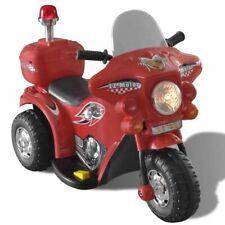 vidaXL Speelgoedmotor op Accu Rood Speelgoed Auto Motor Kindermotor Speelauto
