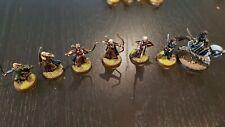 LOTR Elf characters. X7 metal models