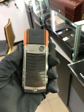 Original Brand Vertu Ascent X Carbon Orange Cellular Phone (Unlocked), Luxury
