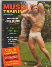 Muscle Training Bodybuilding Fitness Magazine Dennis Busch/John Grimek 11-66