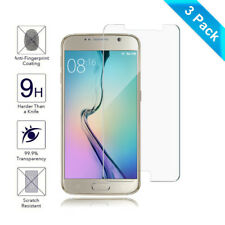 3-Pack Tempered Glass Screen Protector Film Screen Guard for Samsung Galaxy S6