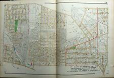 1929 Delaware County Pa Ridley, Swarthmore, Morton, Rutledge Copy Plat Atlas Map