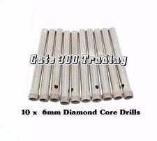 10 X 6mm Diamond Core  Drill Bit   China Porcelain Ceramic Cake Stand