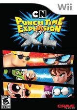 Nintendo Wii  Cartoon Network: Punch Time Explosion XL Game BRAND NEW SEALED