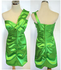 NWT ROBERTA $80 Lime Juniors Prom Party Dance Dress 5