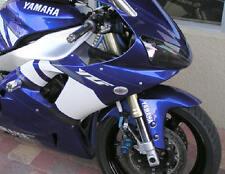 60mm CLEAR FLUSH-MOUNT TURN SIGNALS for Honda Kawasaki Suzuki Yamaha