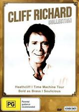 Cliff Richard Collection (DVD, 2013, 4-Disc Set) NEW Heathcliff - SEALED
