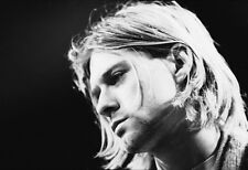 NEW LARGE KURT COBAIN MUSICAN NIRVANA PORTRAIT FACE  PHOTO PRINT PREMIUM POSTER