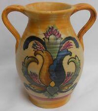 Weller Pottery BARCELONA PATTERN Double Handled Vase