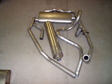 1962 CADILLAC SINGLE EXHAUST SYSTEM, 304 STAINLESS, ALL MODELS,WITHOUT RESONATOR