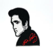 Elvis Presley King of Rock and Roll Music Retro American Singer Iron on Patch