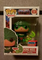 Funko Pop! Vinyl Television MOTU King Hiss #1038 NYCC 2020 Exclusive Not mint