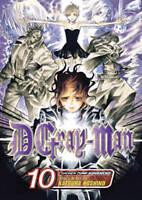 D. Gray-man, Vol. 10 by Katsura Hoshino  2009 VIZ Media Manga English