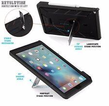 Poetic【Revolution】Built-In Screen Protector Case For Apple iPad Pro 12.9 Black