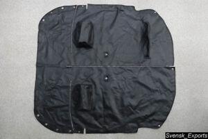 MG MGB 71-81 OEM *Exc Cond* Original Black Vinyl Interior Tonneau Cover Mat