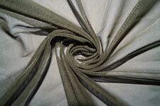 Olive Power Mesh 4 Way Stretch Nylon Lycra Spandex Dance Swimwear Fabric BTY