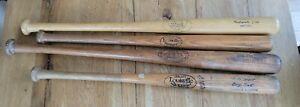 Vintage Wooden Bat lot Mickey Mantle, Louisville Slugger, Hillerich, worth etc..