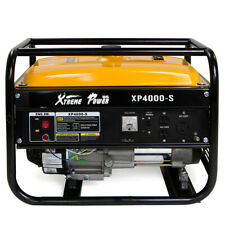 XtrempowerUs 4000 Portable emergency Gas Generator Engine 7Hp 120v Epa Jobsite