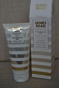 Rare BNIB James Read Gradual Tan Sleep Mask Tan Body light/medium 100ml