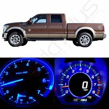 Blue LED Kit Dash Cluster Gauge Lights Bulbs for 1999-2001 Ford F-250 Super Duty