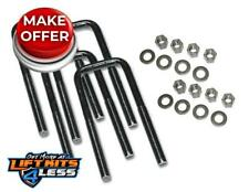 Superlift 11124 5/8x2.5x15 Square U-Bolts 4-Pack w/Hardware All Non-Spec Vehicle