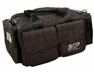 Smith & Wesson M&P Accessories Officer Tactical Range Bag Duty Gear Gun Bag BLK-