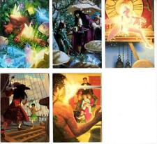 DISNEY 30 YEARS OF MAGIC HILDEBRANDT PETER PAN COLLECTOR CARDS SET OF 5 - 1993