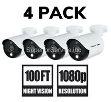 New 4 Pack Night Owl C20XL 1080p Indoor/Outdoor/Add-on Security Camera + Cable